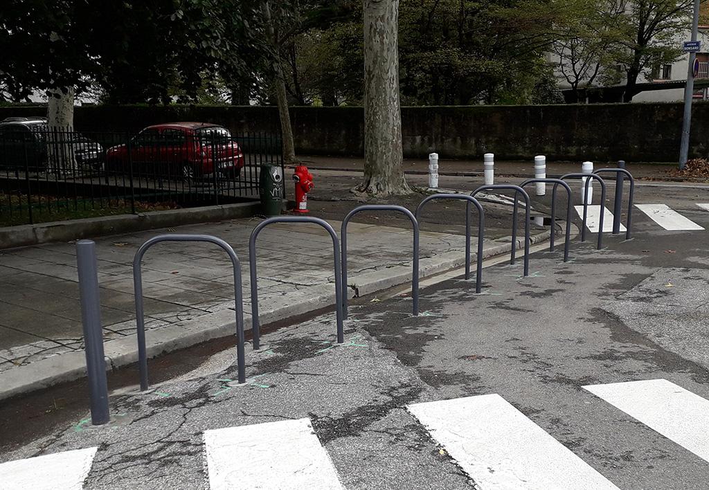 Arceaux vélos Grenoble